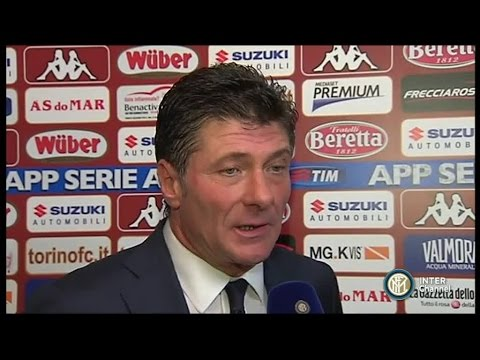 INTERVISTA WALTER MAZZARRI POST TORINO - INTER