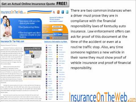 Kentucky Auto Insurance