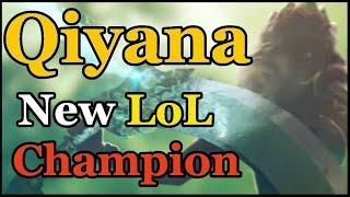 Qiyana - New LoL Champion Teaser (Release Next Week?)