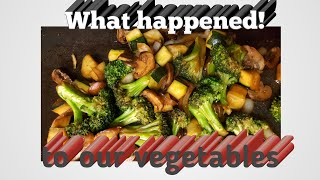 How to grill vegetables|Broccoli, zucchini, onions and mushrooms from #aldi|2020