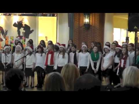 Whitefish Bay, Wi Middle School Girls Optional Choir at Bayshore Town Center on December 17, 2012
