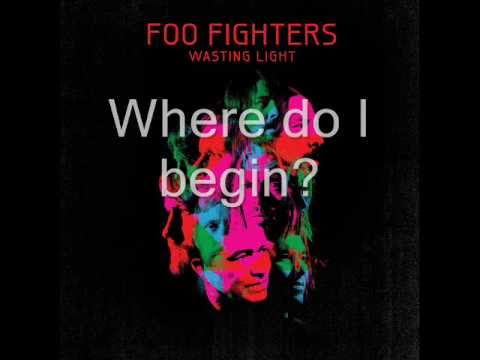 Foo Fighters - Walk Lyrics video