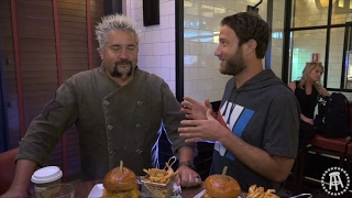 Regina Pizzeria (Foxwoods) With Special Guest Guy Fieri  (Bonus Burgerthots) - Barstool Pizza Review