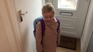 Robyn's First Day Of Preschool