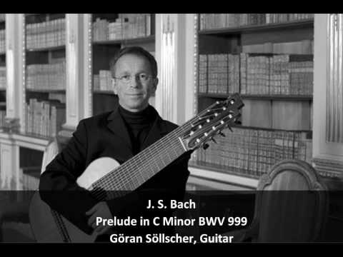 JS Bach - Prelude for Lute in C Minor BWV 999