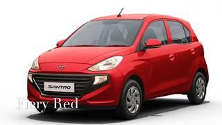 Hyundai Santro 2018 Colors | Colours
