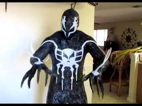 symbiote spiderman 2099 costume youtube