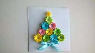 How To Make A Sweet Fir Tree Postcard - DIY Crafts Tutorial - Guidecentral