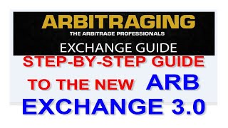 STEP-BY-STEP GUIDE TO ARB EXCHANGE 3.0 [ ARBITRAGING ARB]