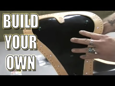 How To Make Your Own Tooled Leather Seat Intro Youtube