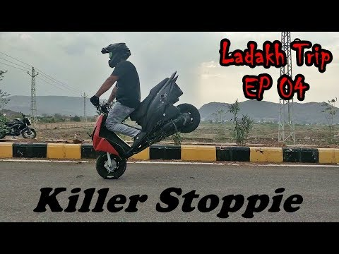 Vadodara to Udaipur - Honda Dio & Pulsar NS stunts - #Ladakh Trip - Episode 04