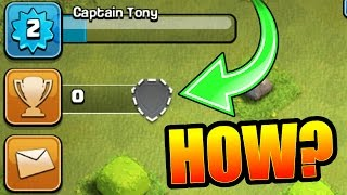 0 TROPHY'S!! 💥 GENERAL TONY BETRAYED!? 💥 Clash Of Clans