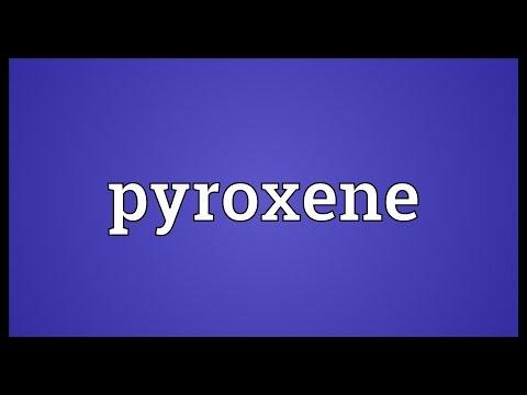 Header of pyroxene