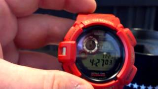 G9330A-4 30th Anniversary Mudman - Rising Red - Casio G-Shock Watch Review - G9330 G9330A