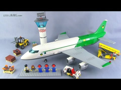LEGO City Cargo Terminal 60022 set Review!
