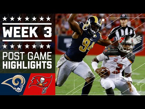 Rams Vs Buccaneers Nfl Week 3 Game Highlights