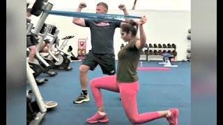 Sania Mirza Workout Fitness Trainign Videos