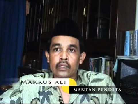 Mantan Pendeta moh Ali makrus masuk islam lagi