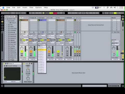 Access Virus TI & Ableton Live