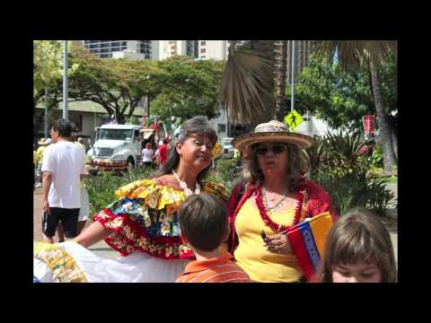 King Kamehameha Parade Honolulu Hawaii 2010 Part 1