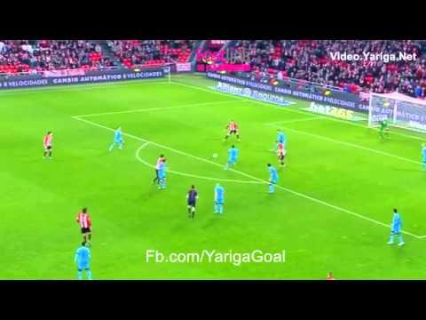 Ath Bilbao 1 - 2 Barcelona Aritz Aduriz 20/1/2016