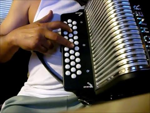 adornos de acordeon de botones sol/gcf instruccional tutorial slow facil