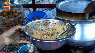 Chotpoti And Fuska Mumbai Indian street Food, Indian Street Food - Pure Street Food,