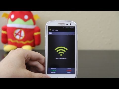 WiFi Tether for Root Users on the Samsung Galaxy S3 / III