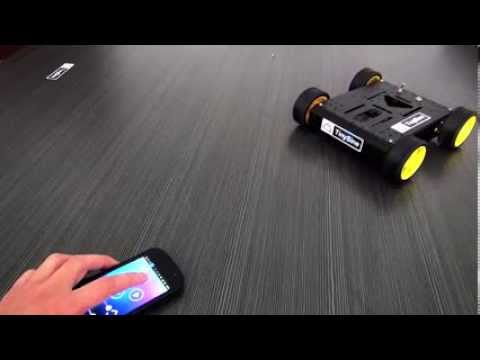 Control  Motorair robot car by an Android Smartphone -- There is no Arduino Board inside.