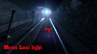 Co on ma na czole...?! - Metro Last light #2 (Gameplay PL)