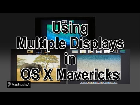 Using Multiple Displays In Mavericks