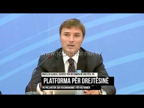 Platforma për drejtësinë, PD prezanton 300 rekomandime - Top Channel Albania - News - Lajme