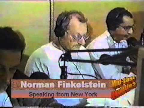 MERTV104   South Africa Radio 1 Norman Finkelstein Mohamed A