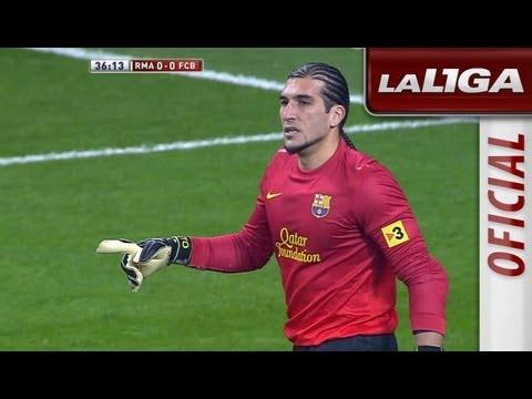 Lo mejor de Pinto en el Real Madrid (1-1) FC Barcelona