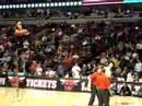 Unicycle Basketball Shot