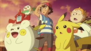 Pokemon: Sun and Moon | Ash and Sophocles vs Team Rocket!