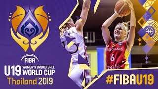 Latvia v Germany - Full Game - FIBA U19 Women's Basketball World Cup 2019