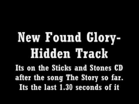 New Found Glory's HIDDEN TRACK( Sticks and Stones Album)