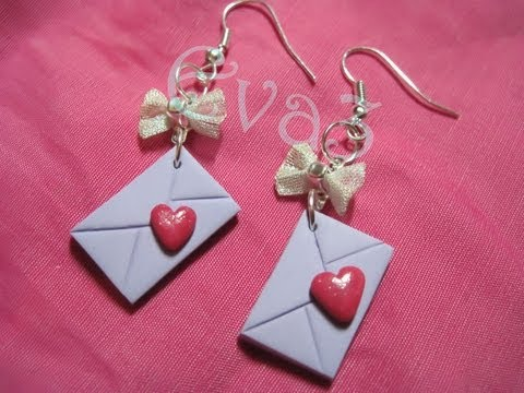 Watch fimo: tutorial ciondoli letterine