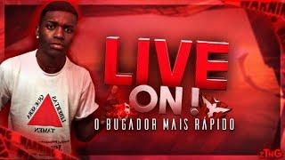 🔴1 DIA SEM JOGAR  - BUGADÃO INSANO! FREEFIRE AO VIVO - LIVE ON
