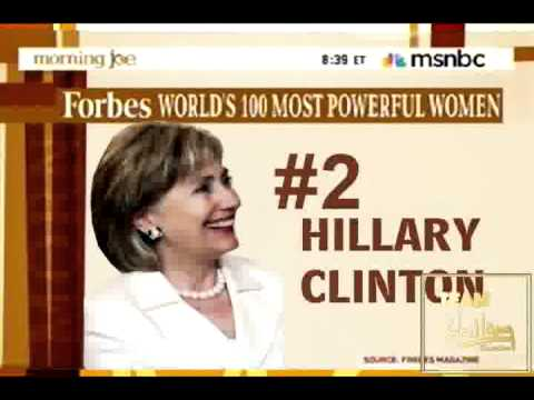 SECY CLINTON IS FORBES MAGAZINE'S 2011 #2 MOST POWERFUL WOMAN IN THE WORLD & MOST POWERFUL IN USA