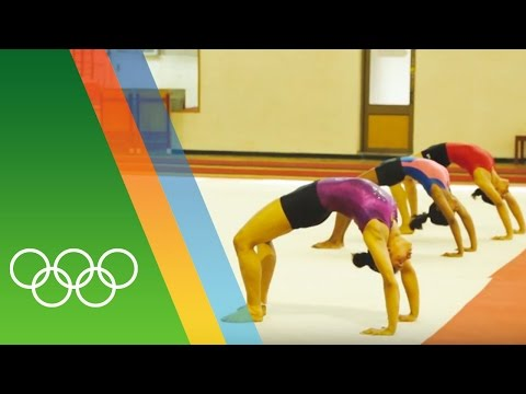 Training for Rio with India's first female Olympic gymnast Dipa Karmakar