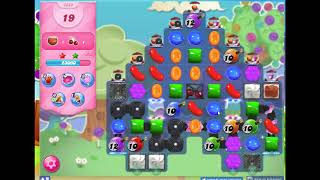 Candy Crush Level 2348 Audio Talkthrough, 3 Stars 0 Boosters