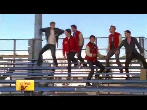 Glee - Summer nights (Official video full performance)