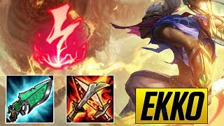 Ekko Montage 10 - Best Ekko Plays | League Of Legends Mid