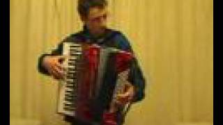 """Under the Bridges of Paris"" on Piano Accordion"