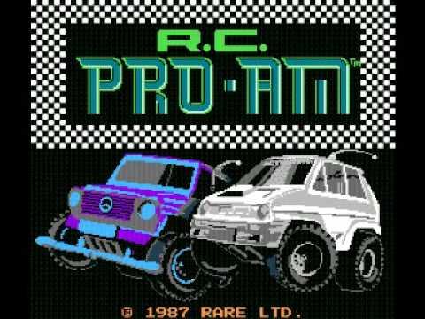 R.C Pro AM (NES) Music - Title Theme
