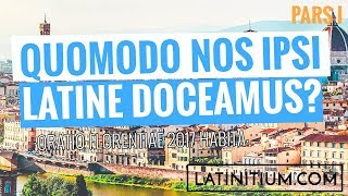 How to teach yourself Latin, part 1 — Quomodo nos ipsi Latine doceamus? Pars I | Learn Latin |