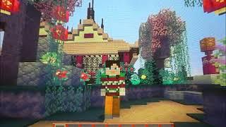 Minecraft wii u : Visite de la map Mythologie Chinoise !