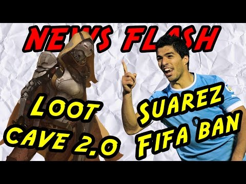 Destiny loot cave 2.0 and Suarez banned in FIFA 15 - News flash